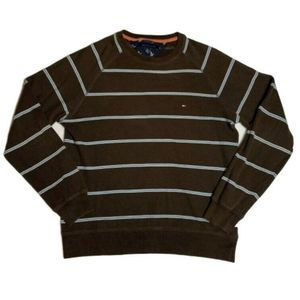 Tommy Hilfiger Men Medium Thermal Shirt Stripe